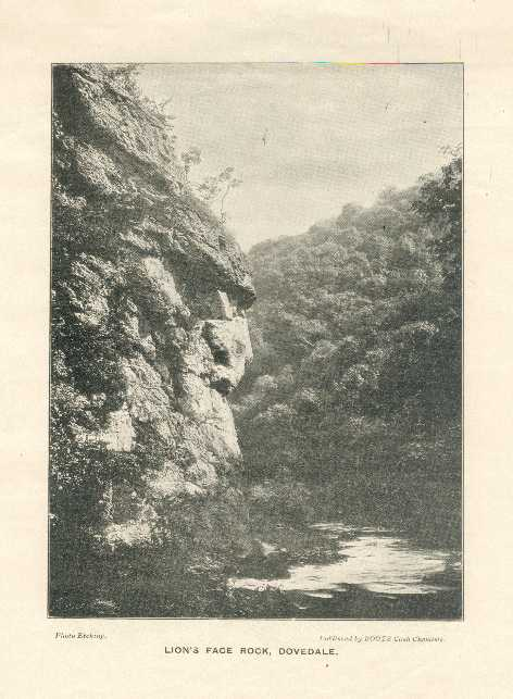 Lion's Face Rock, Dovedale