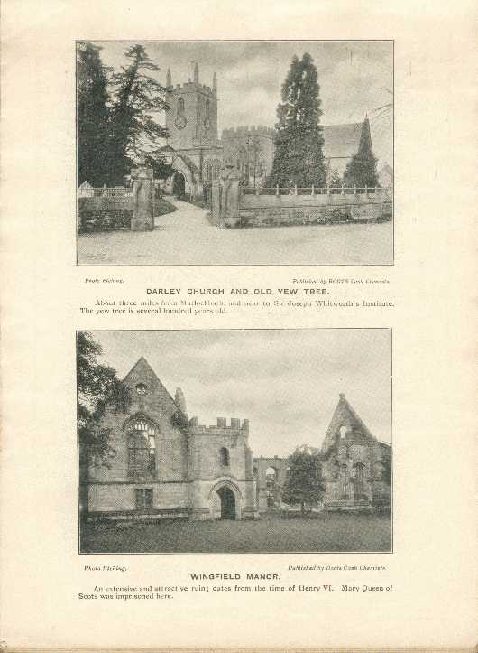 Darley Church, Old Yew Tree / Wingfield Manor