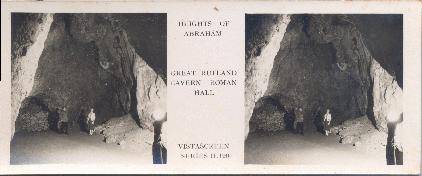 Great Rutland Cavern Roman Hall