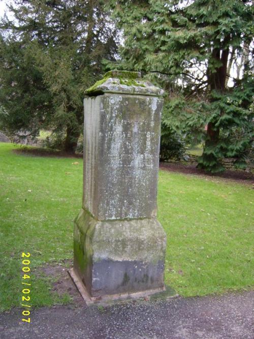 Memorial, Whitworth Institute